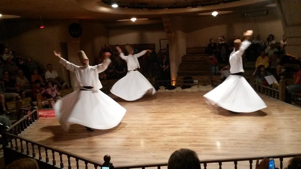 Danza, Derviches, Turquía, Konya, Mevlana