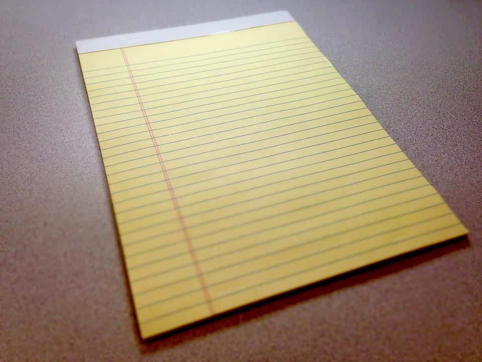 How To Write A Letter On Notebook Paper