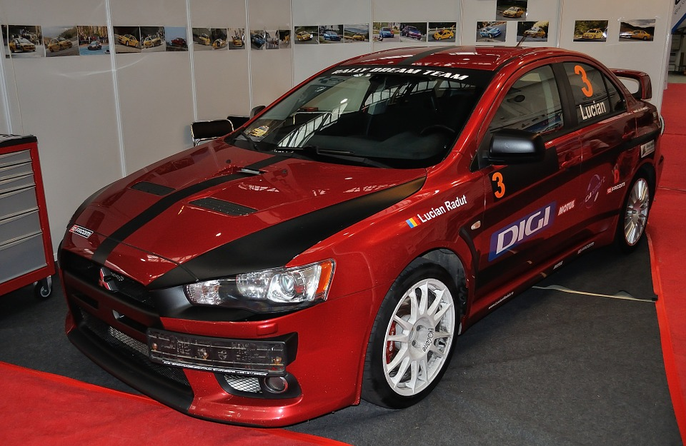 free photo racing car mitsubishi lancer free image on. Black Bedroom Furniture Sets. Home Design Ideas