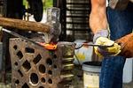 forge, blacksmith, hammer