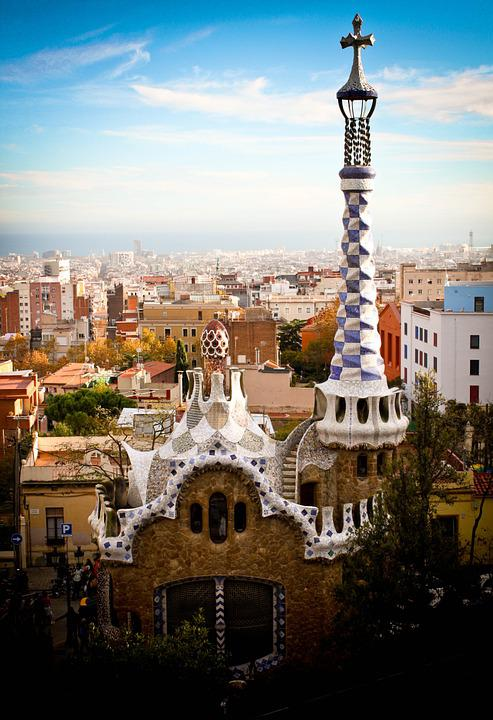 Free Photo Parc Guell Gaudi Spain Barcelona