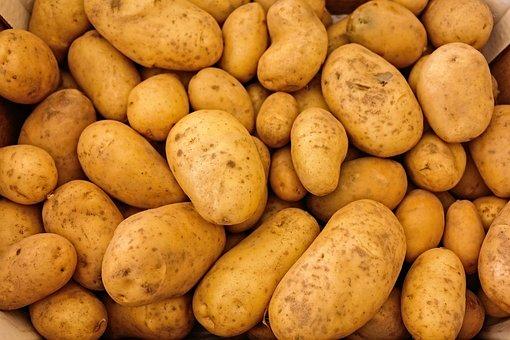 Potatoes, Vegetables, Food, Raw, Healthy