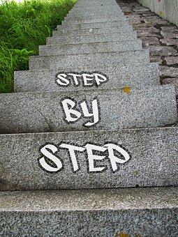 成功, 徐々 に, キャリア, 階段, 徐々に, アップ, 上昇, ステージ
