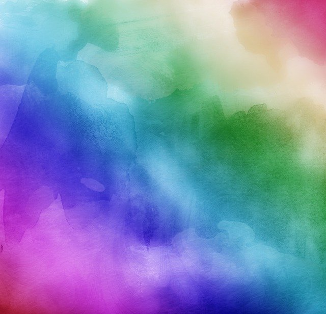 Watercolors Rainbow Colors Lilac 183 Free Photo On Pixabay