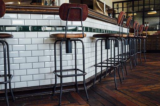 Bar, Counter, Pub, Chairs, Restaurant
