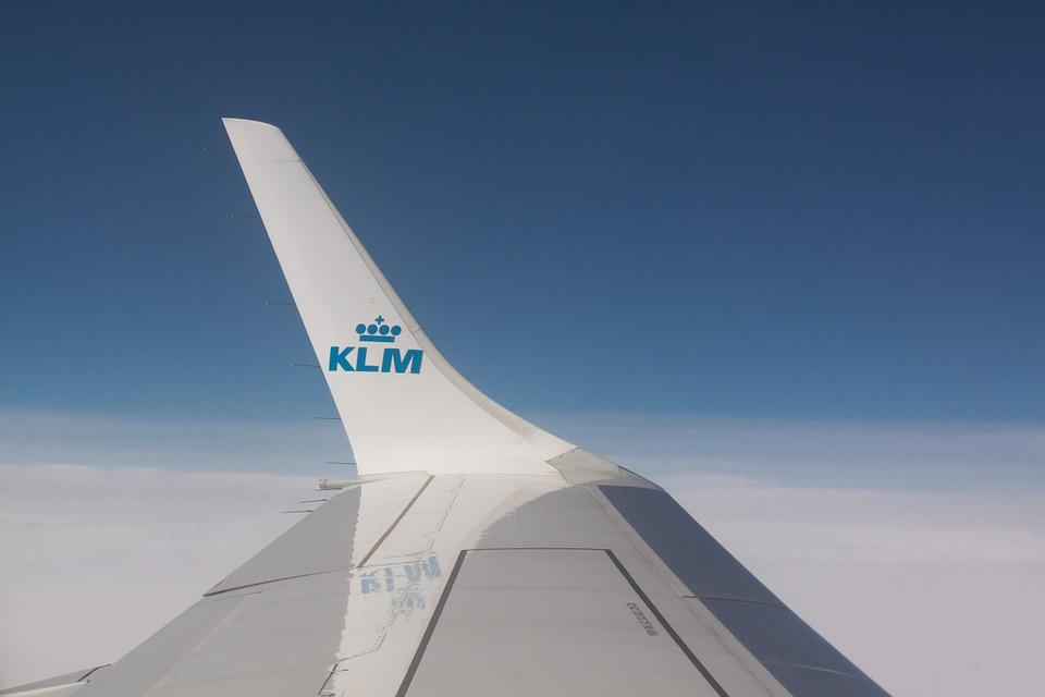 Wing, Flight, Klm, Transport, Airline, Signet, Travel