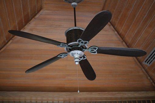 Electric Fan, Wind, Ceiling