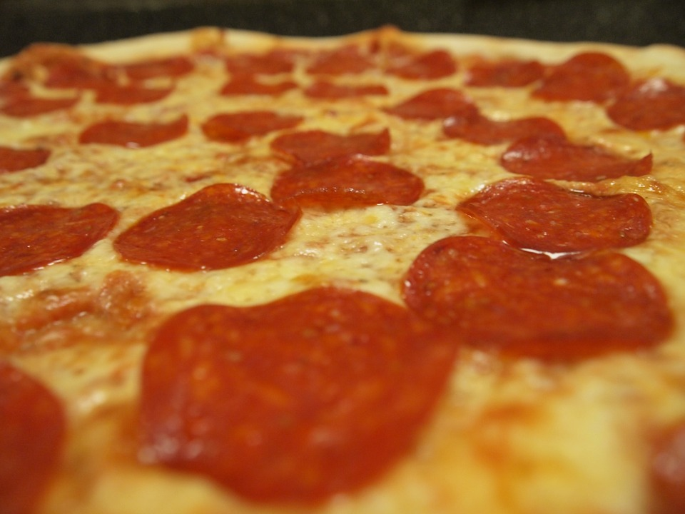Bánh Pizza, Xúc Xích, Thực Phẩm, Phô Mai, Bữa Ăn Tối