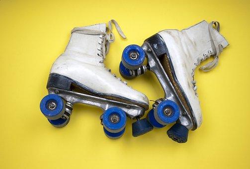 Roller Skates, Skating, Roller, Leisure