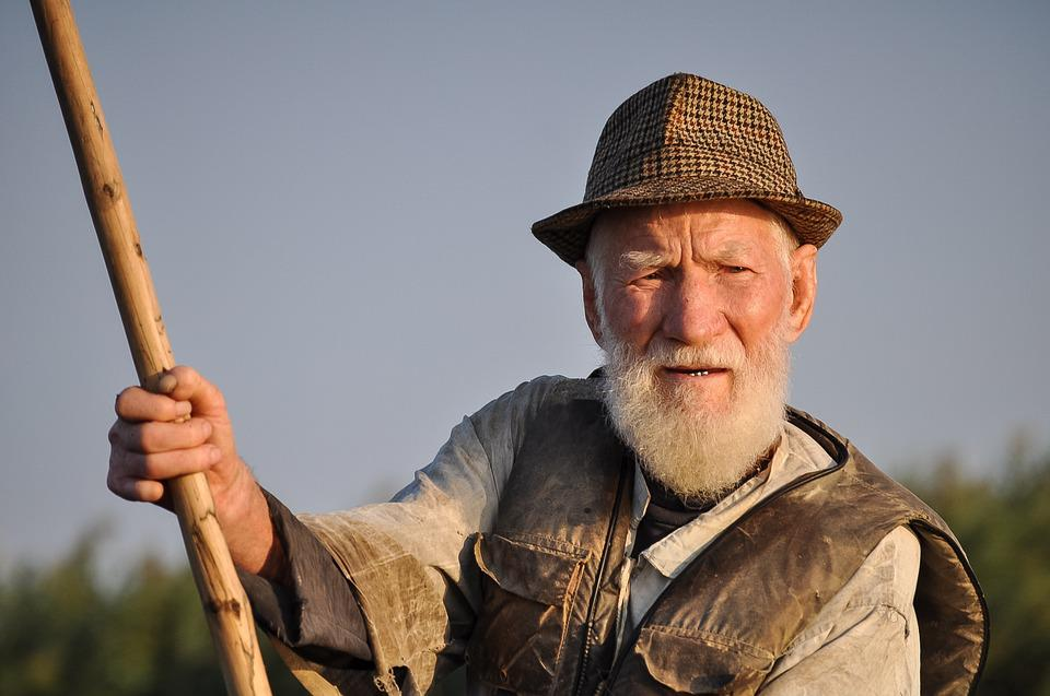 d36c9cb3 man old fisherman portrait traditional person