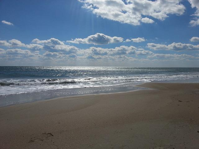 Free Photo Beaches Seashore Cloudy Sky Free Image On