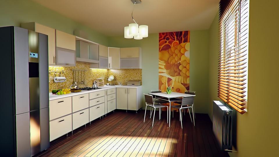Kitchen, Apartment, Home