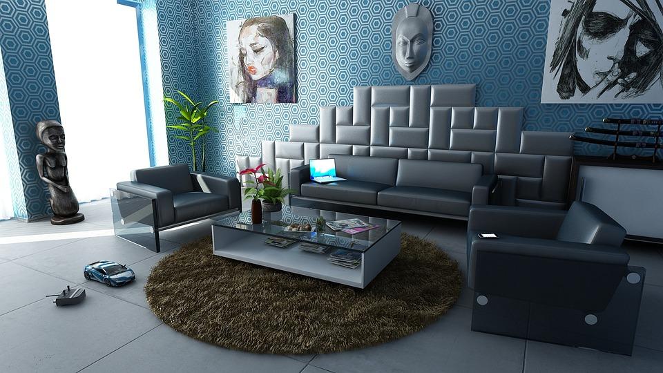 Zimmer Wohnung Innenarchitektur Dekoration Design