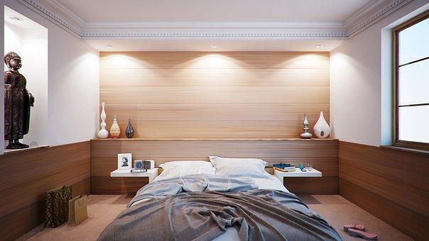 Спалня, Легло, Апартамент, Стая