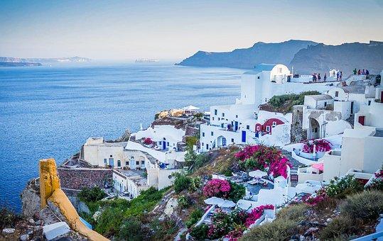 Santorini, Greece, Buildings, Houses