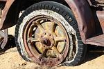 tire, wheel, vintage
