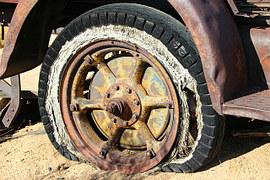 Tire, Wheel, Vintage, Antique, Old