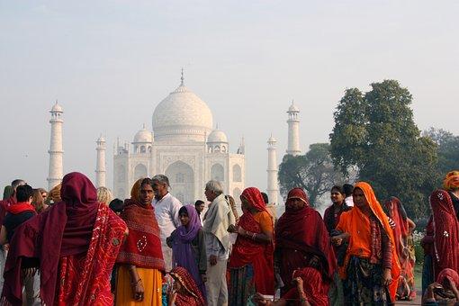 Ấn Độ, Người, Đầy Màu Sắc, Lễ Phục