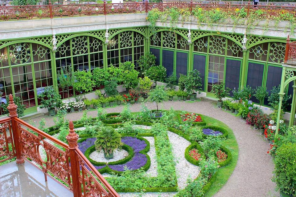 Schlossgarten, Schwerin, Garden, Horticulture, Orangery