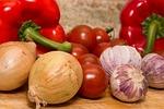 czerwony, papryka, organiczne