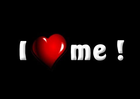 I Love Myself, Text, Words, Love, Me