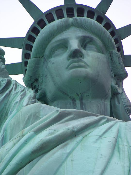 Statue Of Liberty, Statue, New York, Independence