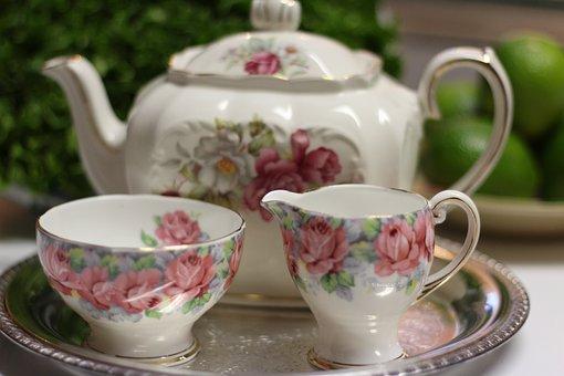 Service, Teacup, Cup, Teapot, Tea Set