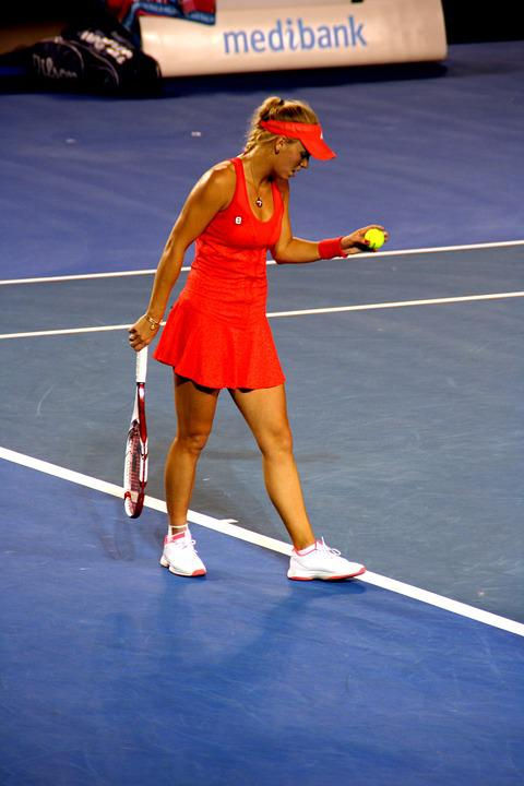 Tennis Player, Caroline Wozniacki, Tennis, Player