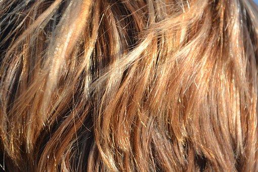 Cheveux, Brins, Beauté, Femme