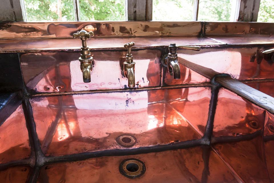 Bathroom Sink Faucet Copper Free Photo On Pixabay