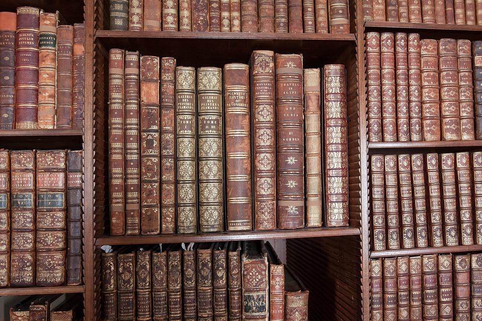 Bibliothèque, Livres, Savoir, Historiquement, Éducation