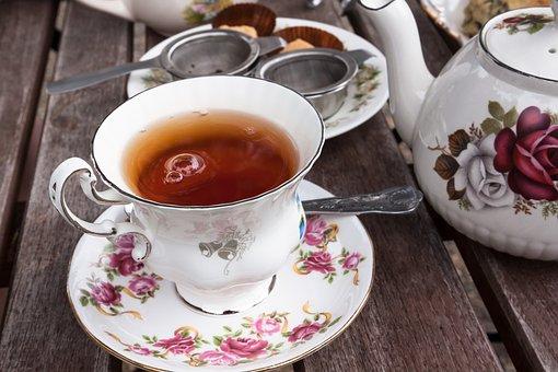 Tee, Service, Earl Gray, Teacup, Teapot