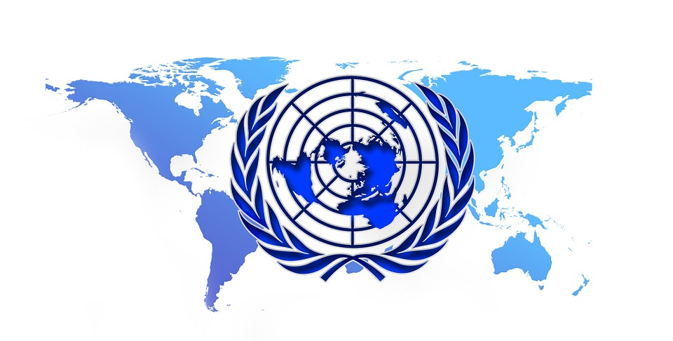 free illustration united nations blue logo un free