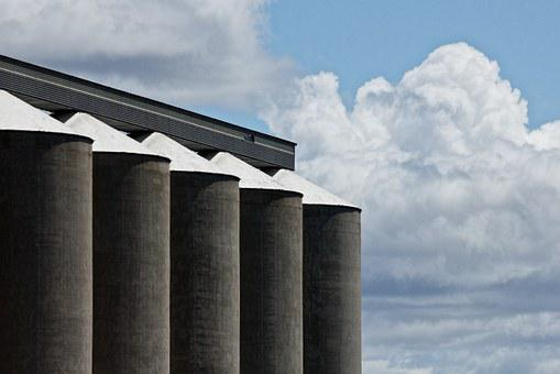 Grain Silo, Corn, Storage, Grain, Silo