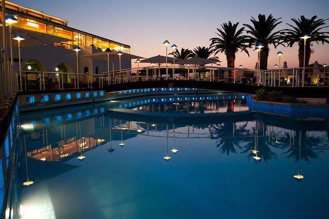 Free Photo Hotel Pool Swimming Pool Free Image On
