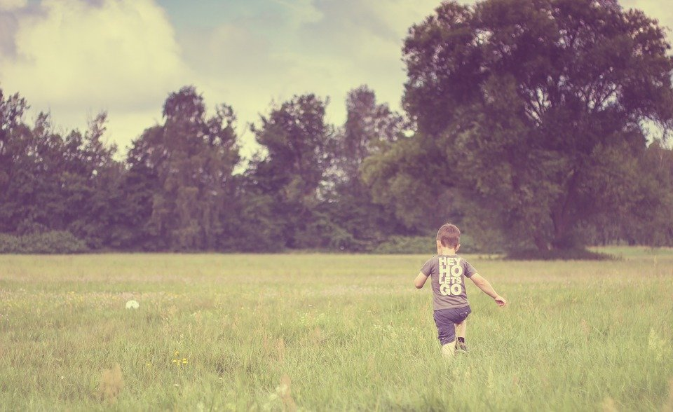 Free photo child nature meadow cheerful free image for Cheerful nature
