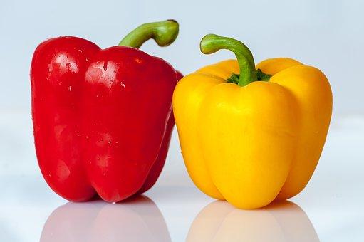 Bell Peppers, Vegetables, Food