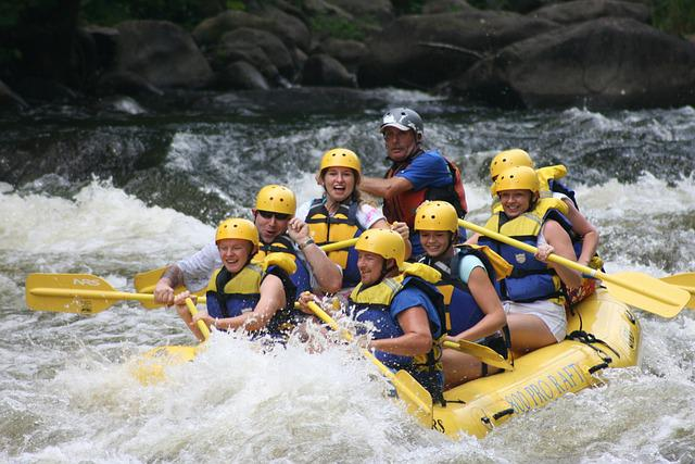 Rafting Whitewater Team 183 Free Photo On Pixabay