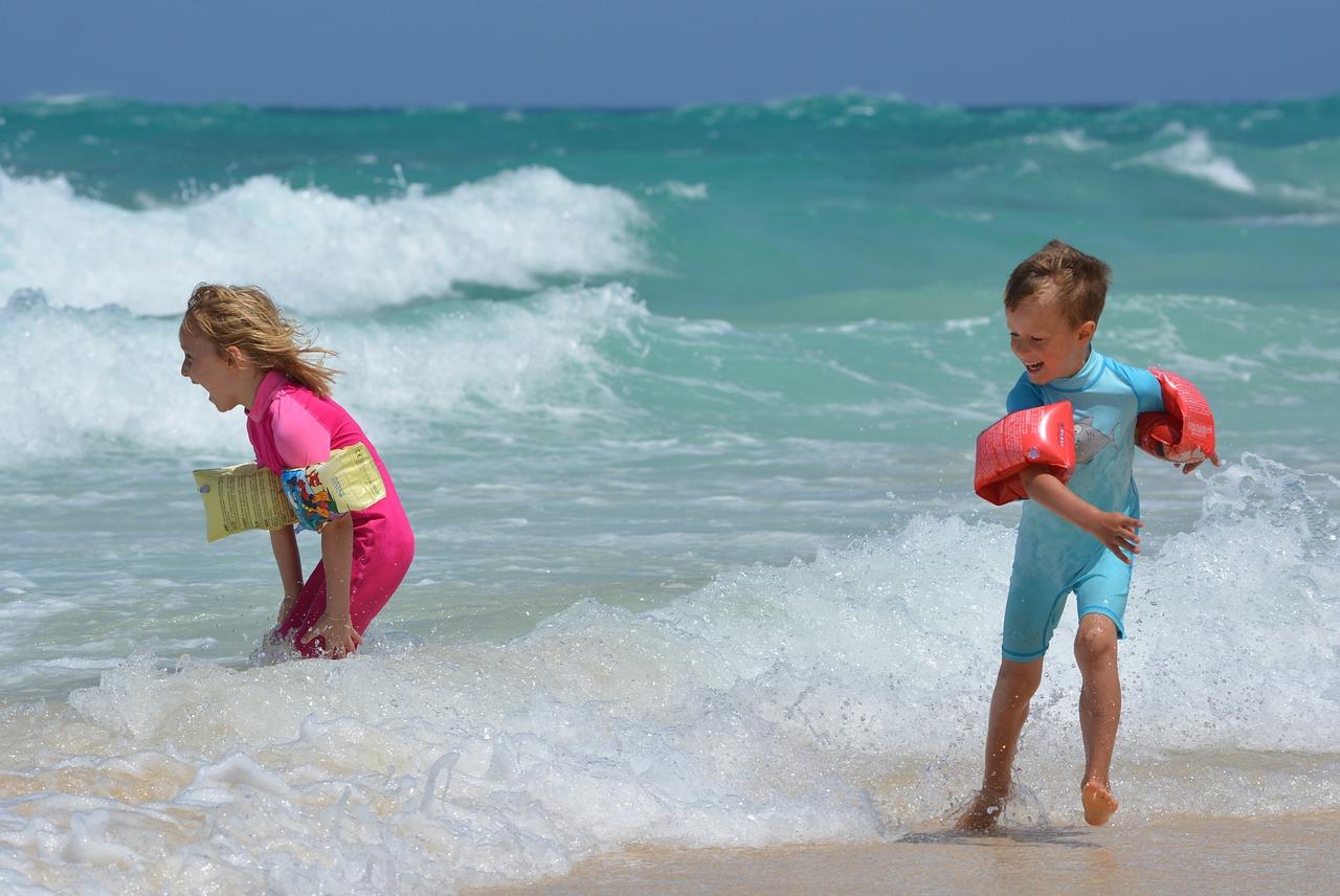 Фото детей на отдыхе море