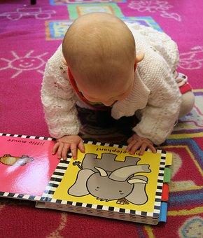 Apprentissage, Livre, Enfant, Bambin