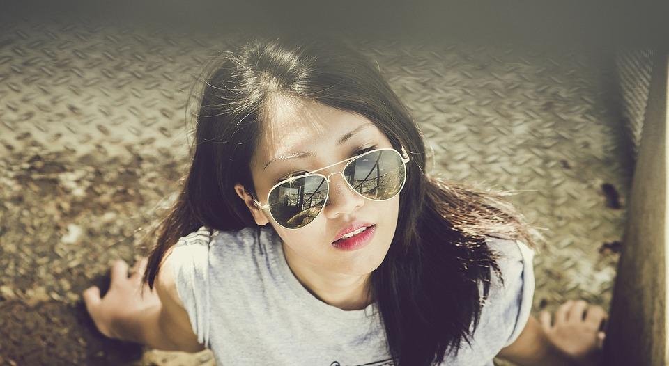 Mujer, Modelo, La Luz Del Sol, Gafas De Sol, Verano