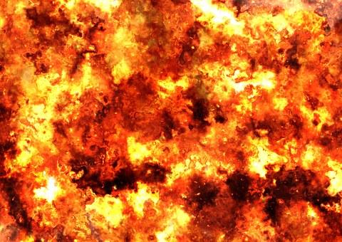Fireball, Fire, Brand, Armageddon