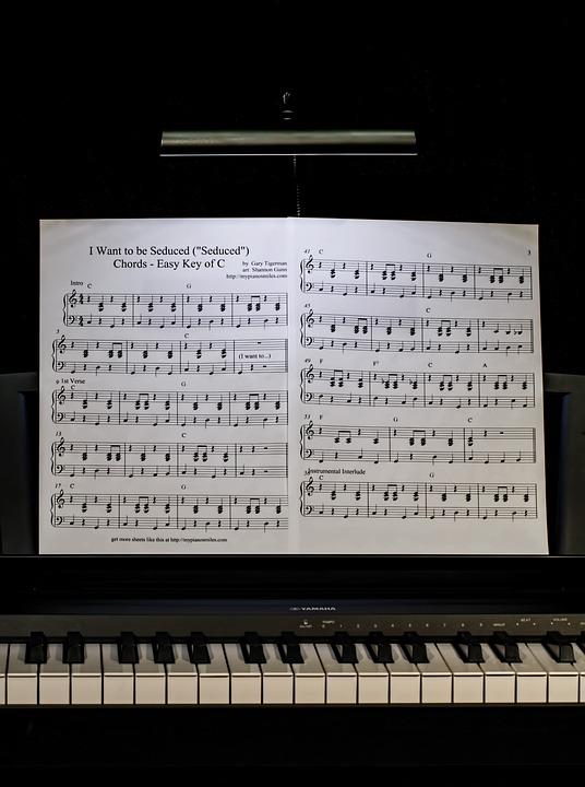 Keyboard Chords Chart: Free photo: Piano Lesson Music Keyboard - Free Image on Pixabay ,Chart