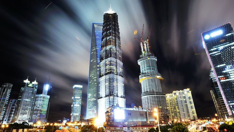 上海, 浦東, 夜景