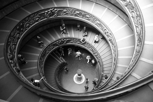 Spiral Staircase, Scale, Round, Vatican