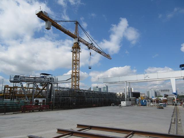 Free Photo Crane Gantry Construction Free Image On