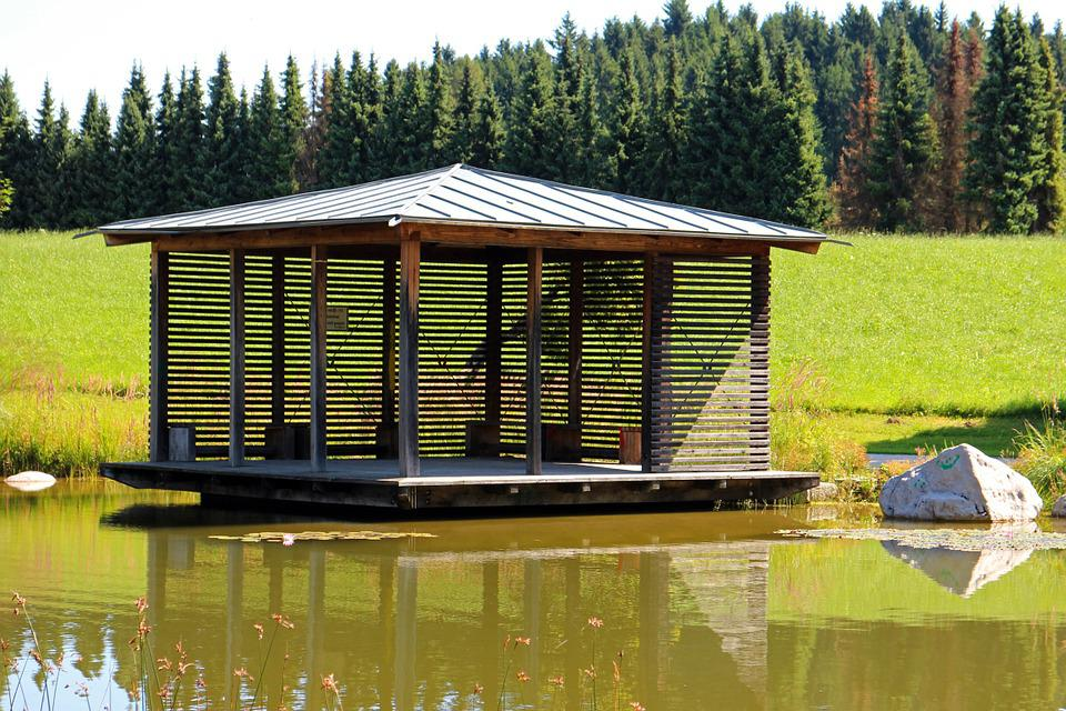Pavilion, Garden Pavilion, Bower, Gazebo, Sit, Rest