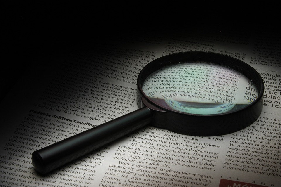 Magnifier, Newspaper, History, Glass, Zoom