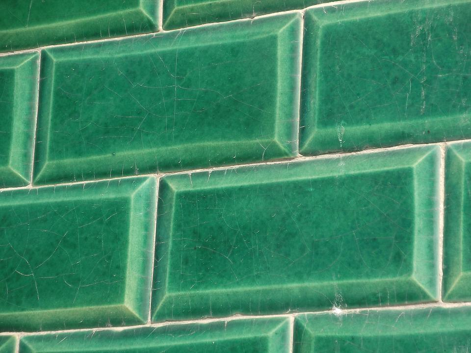 free photo tiles green wall pattern free image on