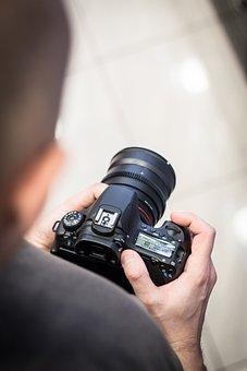 写真家, カメラ, 写真撮影, デジタル一眼レフ, Slr, デジタルカメラ
